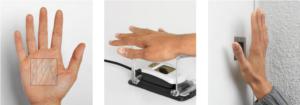 Biometrie: Handenen Scanner